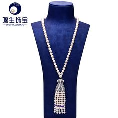 Aliexpress.com : Buy pearl jewelry 100% Real Freshwater Natural Fine Jewelry 6  7mm and 8  9mm Cultured Pearl necklace for women YSN015 from Reliable jewelry sweet suppliers on pearls by yuansheng
