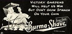 More Burma Shave Signs « Nostalgia and Now