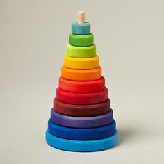 Large Tower Stacking Toy in Baby Toys | The Land of Nod