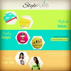 Get Colorful-Trendy n Perky with StyleFlies