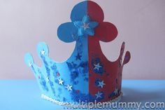 How to make a Jubilee Crown!