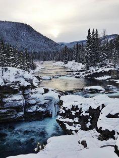 Elbow Falls, AB