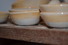 Handmade South African mix and match earthenware service. For more information: www.mvninteriors.com