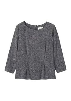 CONSTANCE PRINT CREPE TOP by TOAST