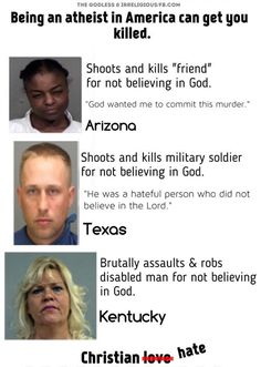"""If you really believed in God, you'd know that the Sixth Commandment, """"Thou shalt not kill"""" is a thing, right?"""