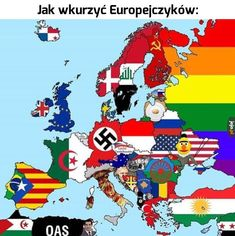 A map to trigger every country in Europe Dankest Memes, Funny Memes, Hilarious, Jokes, It's Funny, Funny Gifs, Troll, Donald Trump, Memes Of The Day