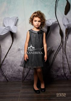 2352 Flower Girl Dress - Birthday Wedding Party Holiday Bridesmaid  Communion Lace Tulle Abiti Di Compleanno 62d0b86cff31