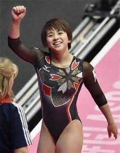 Olympic Gymnastics, Gymnastics Girls, Gymnastics Leotards, Female Gymnast, Sporty Girls, Athletic Women, Female Athletes, Beautiful Asian Girls, Sports Women