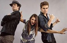 Ian, Nina and Paul <3