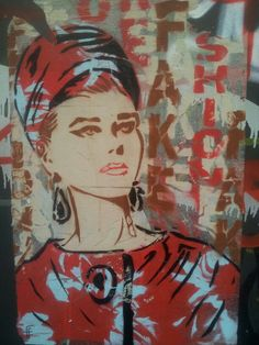 Street art. Barcelona Gracia. Maudea