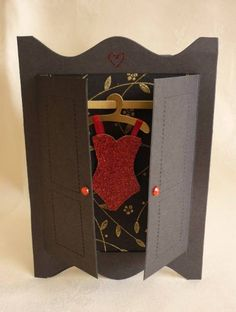 corset - Homemade Cards, Rubber Stamp Art, & Paper Crafts - Splitcoaststampers.com