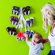Boon Curl Baby Shoe Rack. $28.46. A cute & functional way to display our babies shoes.