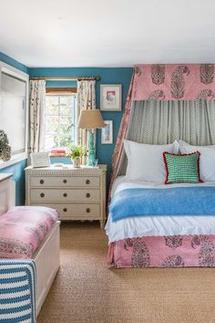 A Cotswolds Bedroom by Octavia Dickinson