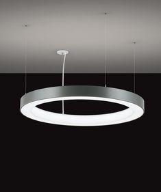 GlowRing™ Pendant - OCL Architectural Lighting Ceiling Light Fixtures, Pendant Light Fixtures, Pendant Lighting, Ceiling Lights, Round Ceiling Light, Recessed Ceiling, Light Architecture, Lighting Design, Pendants