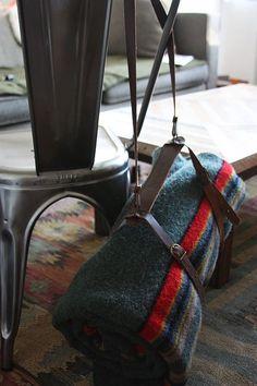 Vintage Pendleton Wool Camp Blanket