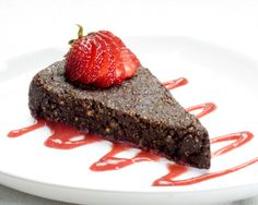 Flourless Raw Vegan Chocolate Cake