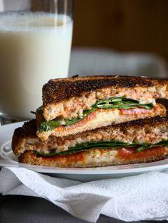 Italian Grilled Cheese via @Krista Dearden - Budget Gourmet Mom