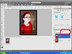 Add a watermark to your photos in Photoshop Elements.