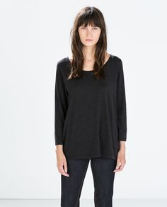 Image 1 of COTTON T-SHIRT from Zara