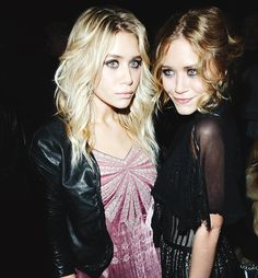 Ashley and Mary-Kate Olsen......