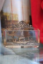 Antique Italian silver and Crystal jardiniere, early 19th century