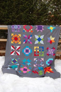 summer sampler quilt top