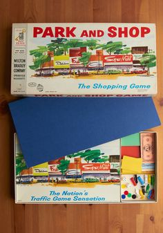 Vintage Park and Shop Game. We had this. It was so much fun.