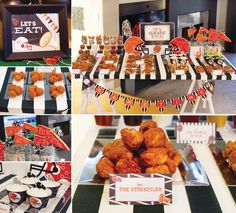 It's Game Time Football Party {PART 1} + Free Printables from HWTM! #HWTMGameTimeGuide #Football