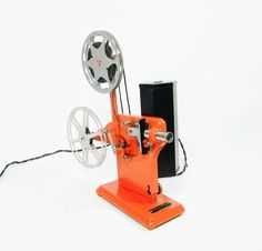 1930's Vitascope — hand crank film projector.