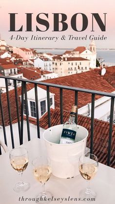 Looking to travel to Lisbon, Portugal? Check out my Lisbon travel guide and 4 day itinerary for help planning your long weekend trip to Lisboa, Portugal. Portugal Travel Guide, Europe Travel Guide, Travel Destinations, Portugal Vacation, France Travel, Travel Guides, Visit Portugal, Lisbon Portugal, Portugal Trip