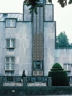 Josef Hoffmann. Stoclet Palace Brussels - 1905-1911.