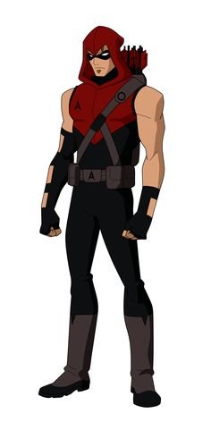 Red Arrow: Roy Harper formerly known as Speedy when he was partners with Green Arrow.