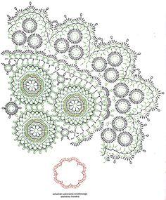 Crochet Rug Patterns, Crochet Motif, Irish Crochet, Crochet Shawl, Crochet Doilies, Crochet Flowers, Knit Crochet, Crochet Home, Crochet Crafts