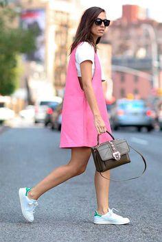 More New York Fashon Week Street Style: s/s 2015 | Fashion, Trends, Beauty Tips & Celebrity Style Magazine | ELLE UK