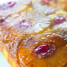 Trisha Yearwood's Pineapple Upside Down Cake