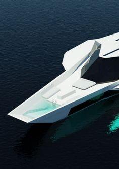 Diamond Independance, 35m yacht concept by Daphnis Fournier _