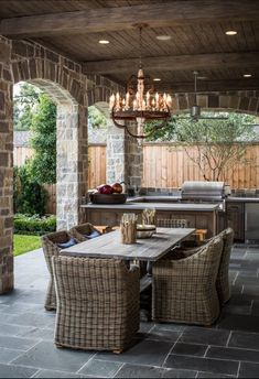 Outdoor Room & Outdoor Kitchen Decorating & Design Ideas- Pictures of Outdoor Rooms on Decks, Patios and Porches : Home & Garden Television French Style Homes, Outdoor Decor, Rustic French, Outside Living, Outdoor Kitchen Design, Outdoor Rooms, Outdoor Dining, Outdoor Design, Outdoor Kitchen