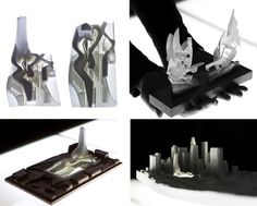 Void Tower, Downtown Los Angeles, CA - eVolo   Architectural Model