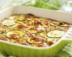 Gratin de courgettes au fromage blanc fait maison : Savoureuse et équilibrée | Fourchette & Bikini