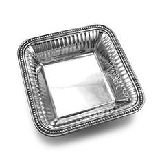 #Bowls #Wilton_Armetale #shopping #sofiprice Wilton Armetale Flutes and Pearls Square Bowl - https://sofiprice.com/product/wilton-armetale-flutes-and-pearls-square-bowl-1407153.html