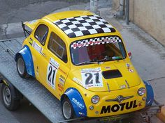 Fiat 500 race edition.