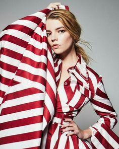 Anya Taylor Joy, Dior Haute Couture, Elle Magazine, Queen, Instagram, Tops, Fashion, Moda, Fashion Styles