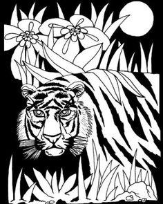 Darice 16 Inch By 20 Velvet Art Set Jungle Life