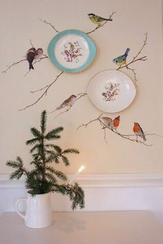 Plate wall / Christmas. ||  ♡ I LOVE THIS!!!  ♥A
