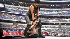 Team Total Divas vs. Team B.A.D. & Blonde: WrestleMania 32 Kickoff. https://www.youtube.com/watch?v=R3ilL1Fo2Fk