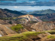 Why we love it: High geothermal activity in the area creates some of Iceland's most colorful landscapes—a veritable kaleidoscope of greens, oranges, reds, blacks, browns, and more.