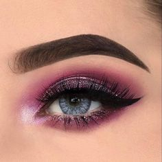 """4,318 Likes, 15 Comments - Makeup Addiction Cosmetics® (@makeupaddictioncosmetics) on Instagram: """"⭐️⭐️⭐️⭐️ Such a stunning glitter look by @xwiesx! ⭐️⭐️⭐️⭐️ #MakeupAddictionCosmetics"""""""