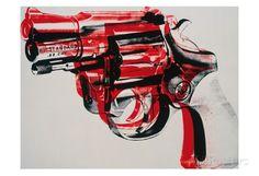 Vapen, ca1981–82, svart och rött på vitt Konsttryck