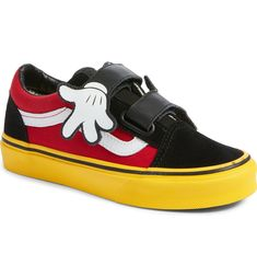7af0ed4a806 Free shipping and returns on Vans x Disney Mickey Mouse Old Skool V Sneaker  (Baby
