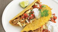Slow-Cooker Chili Chicken Tacos Recipe 2 lbs chicken thighs (boneless ...